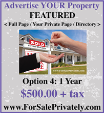 Advertise Your Real Estate
