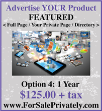 Advertise Your Product